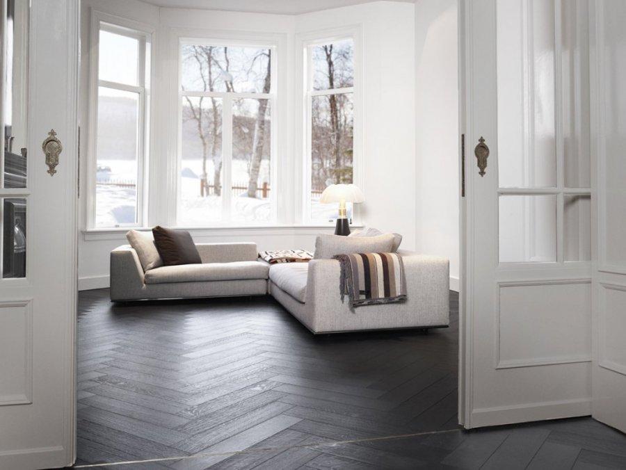 Houtambacht houten vloer visgraat