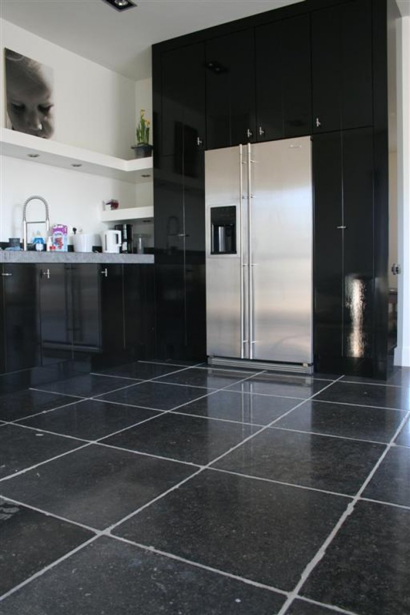 keuken tegels natuursteen : Keukeninspiratie Een Keukenvloer Van Natuursteen Nieuws