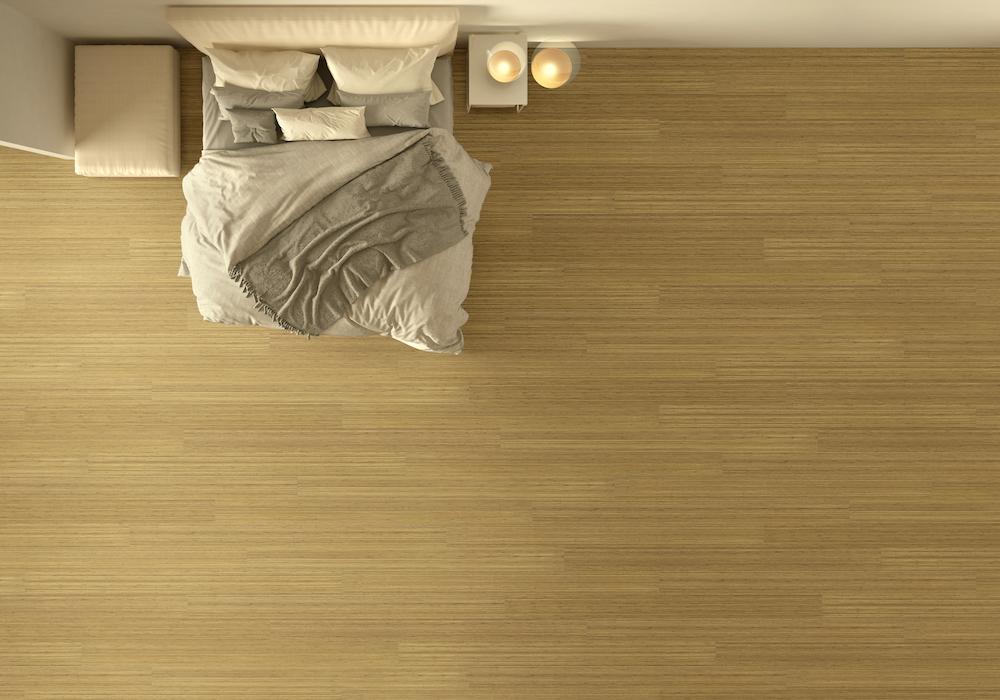 Moso bamboe vloer Excellence met extra lange planken voor een luxe uitstraling #moso #bamboe #vloer #houtenvloer #bamboevloer #duurzaam #interieur