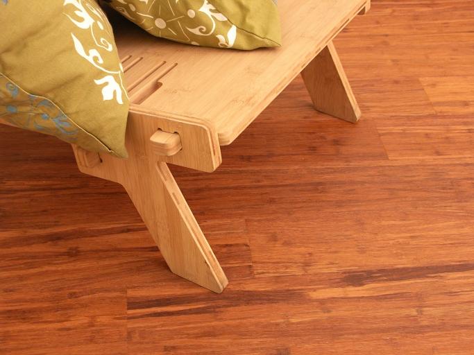 Topbamboo vloer van MOSO Bamboo