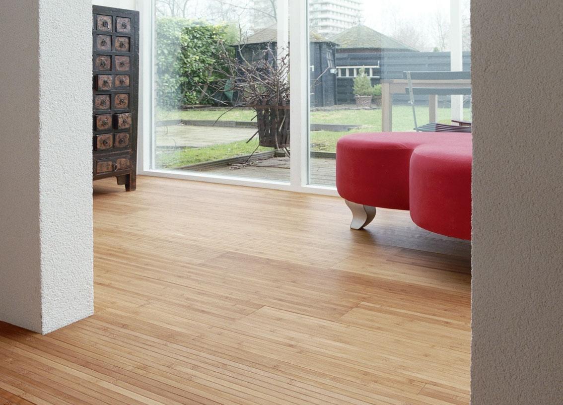 Duurzame houten vloer van bamboe - Moso Nederland