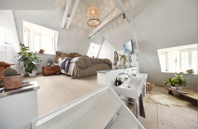 Voorbeelden van kurkvloeren. Meister kurk vloer slaapkamer #kurk #kurkvloer #interieur #meister