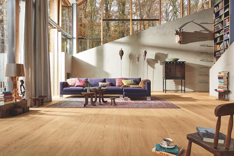 Nieuwste Lindura houten vloer Houten HD400 natuurgeolied van Meister - Eik natuur pure 8743  #interieur #interieurinspiratie #houtenvloer #hout #vloer #meister #lindura