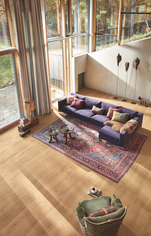 Nieuwste Lindura houten vloer Houten HD400 van Meister Eik natuur pure 8743 #interieur #interieurinspiratie #houtenvloer #hout #vloer #meister #lindura
