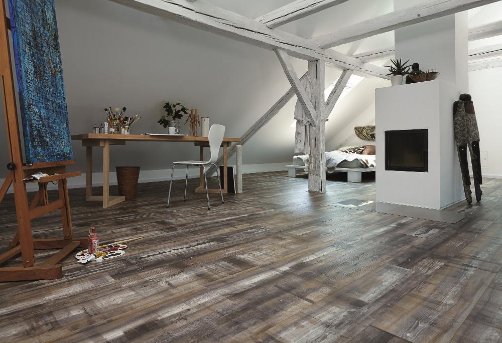 Designvloer met houtlook - Meister Silent Touch