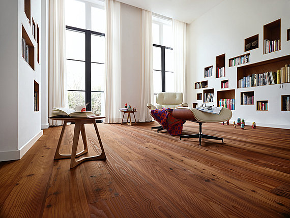Meister longlife parket houten vloer