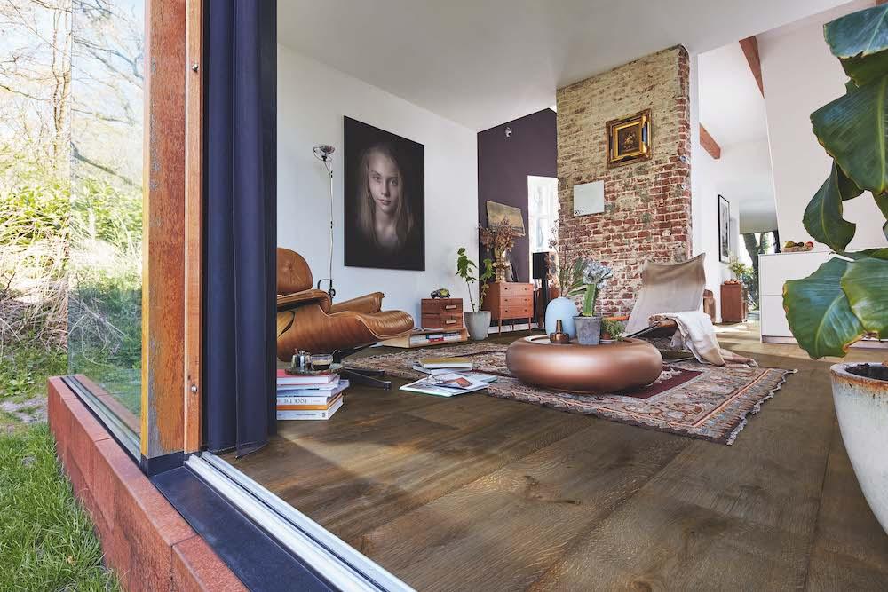 Meister Lindura HD300 houten vloer eiken olijf vintage, natuurgeolied, met een bijzonder spannend kleurenspel.