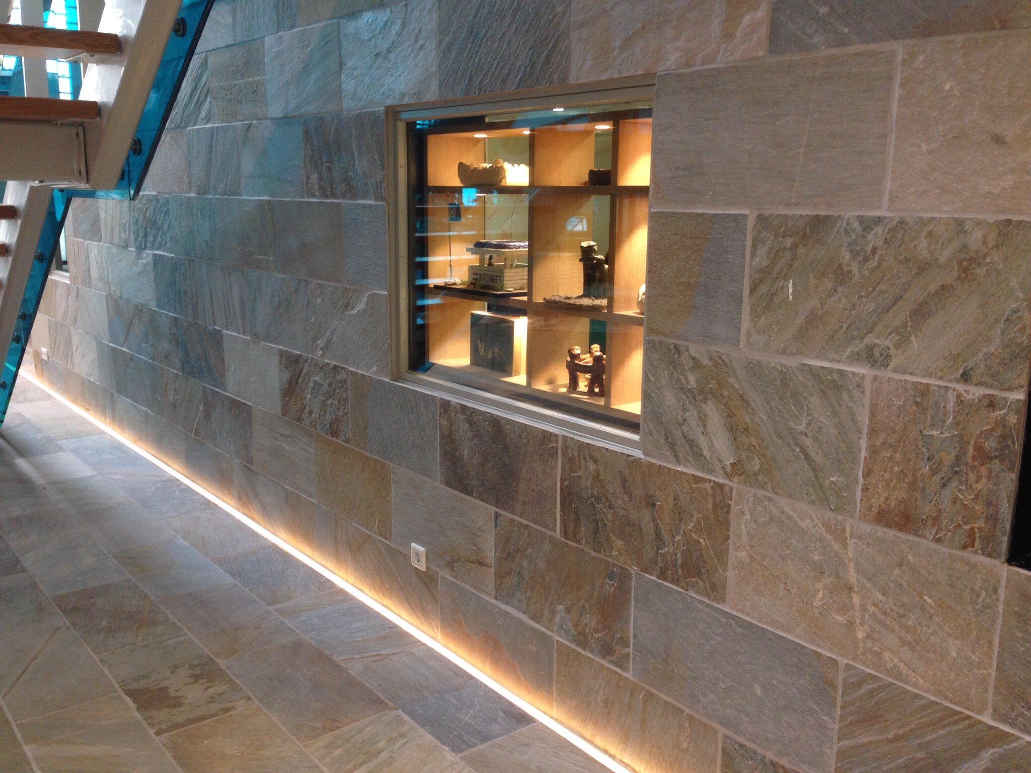 Natuursteen wandtegels en vloertegels - Kwartsiet via Nibo Stone