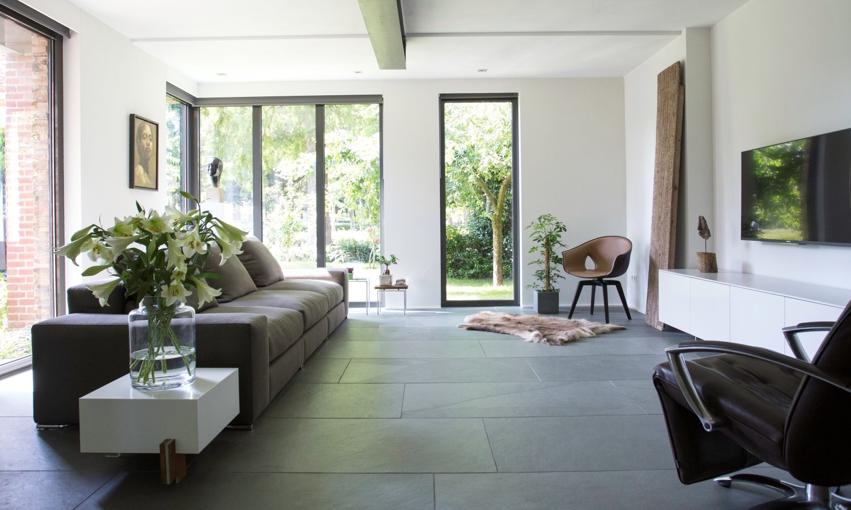 Natuursteen vloer via Nibo Stone #natuursteen #vloer #interieur #interieurinspiratie #nibostone