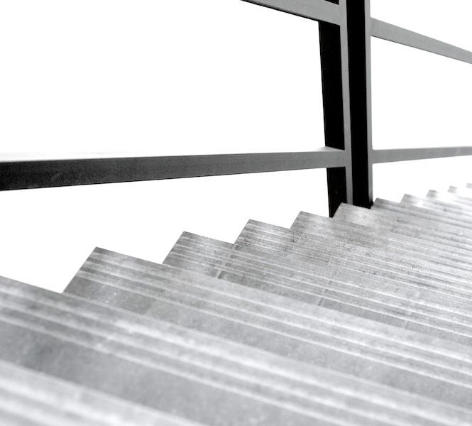 Norvold graniet natuursteen trap