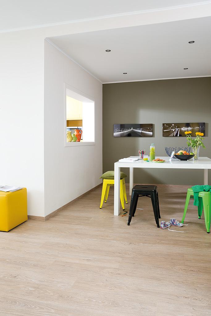 Kunststof vloer met natuurlijke uitstraling - Quick-Step luxe vinyl vloer Livyn
