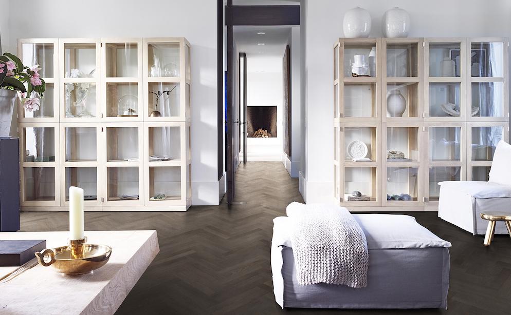 Houten vloer - Piet Boon Flooring by Solidfloor visgraat Terra #visgraat #houtenvloer #pietboon #solidfloor #interieur