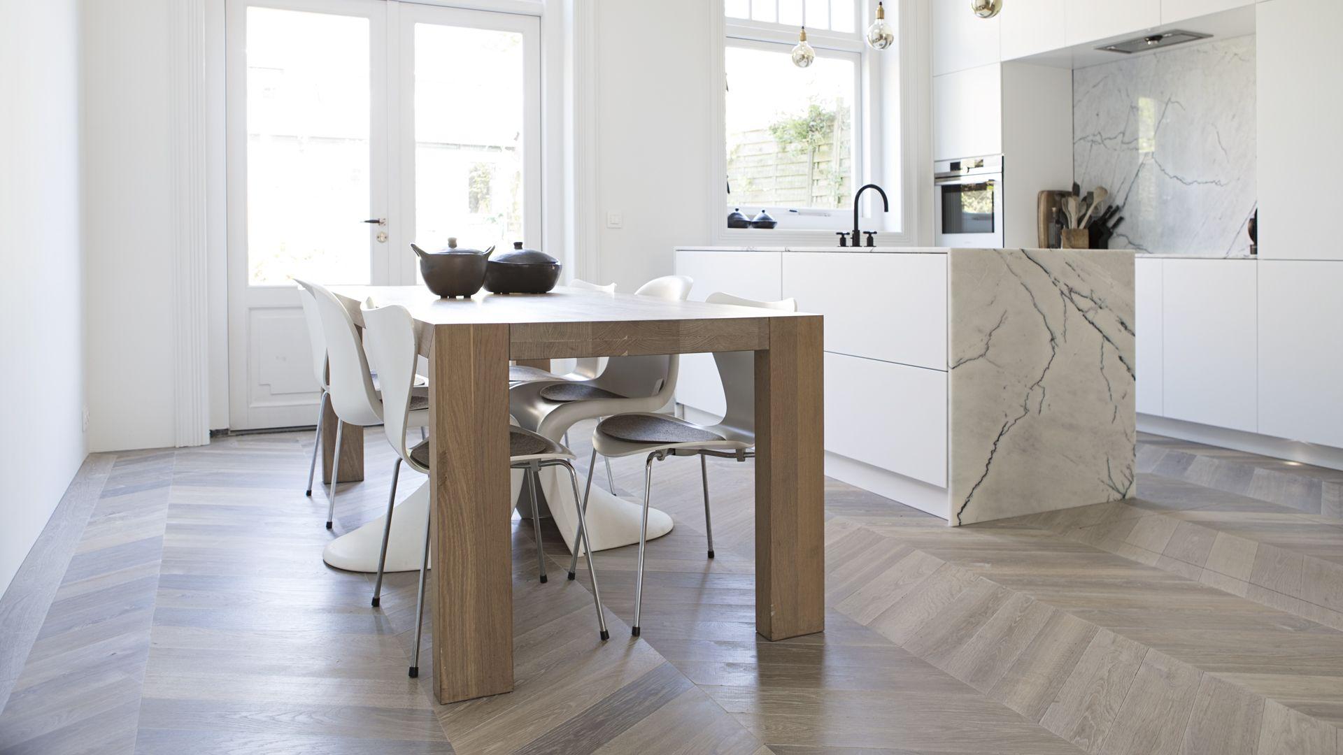 houten parket keuken gehoor geven aan uw huis