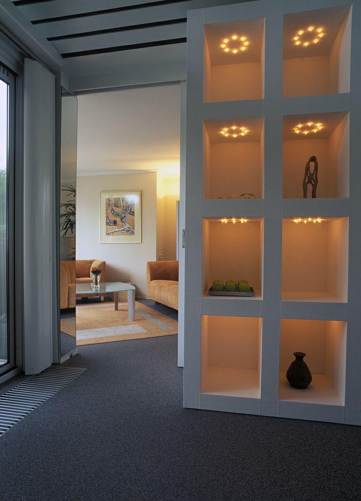 Interieur met naadloze vloer Unica Marmerstone