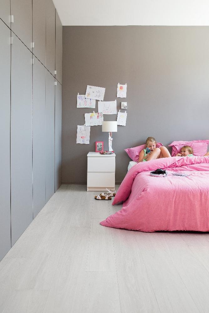 ... met houtlook licht grijs eiken - Viligno light grey oak #slaapkamer