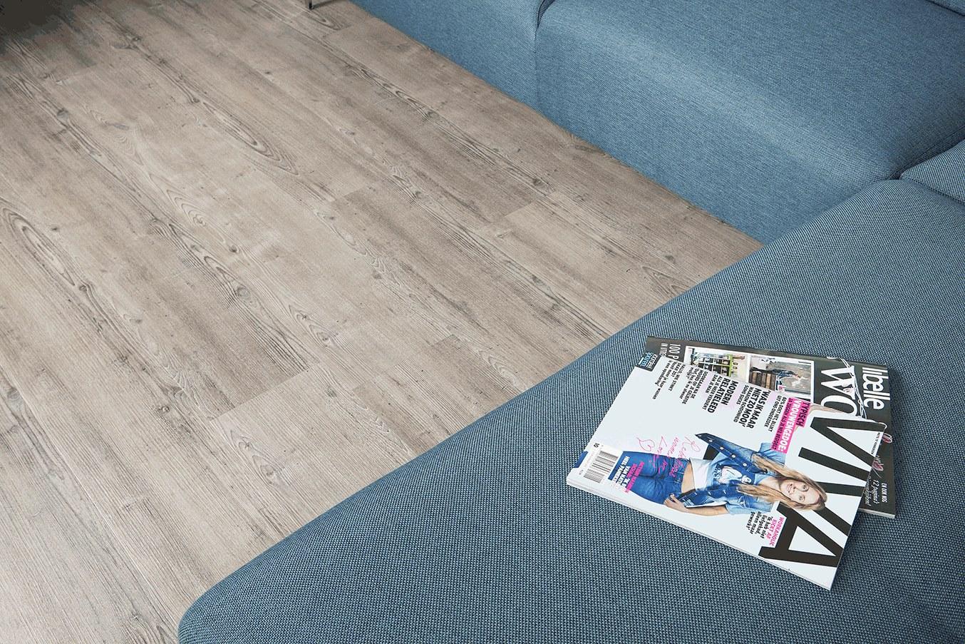 PVC vloer met natuurgetrouwe houtlook - Balance collectie van Vivafloors