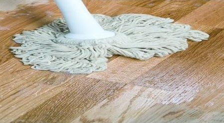 WOCA beschremingg en reiniging vloer