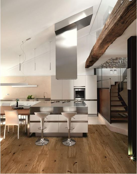 Eikenhouten vloer BasiclifePlus via Your Floor