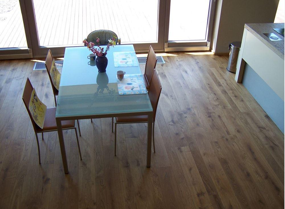 Eikenhouten vloer Basiclife naturel via Your Floor