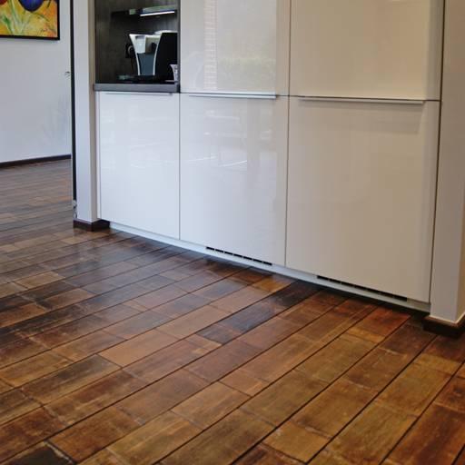 Keukenvloer van bamboe - Moso