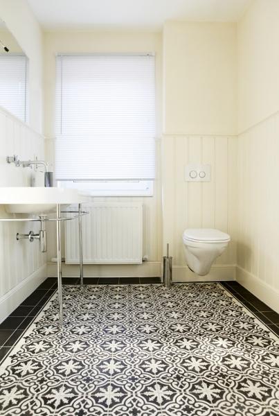 Badkamer Tegels Houten Vloer