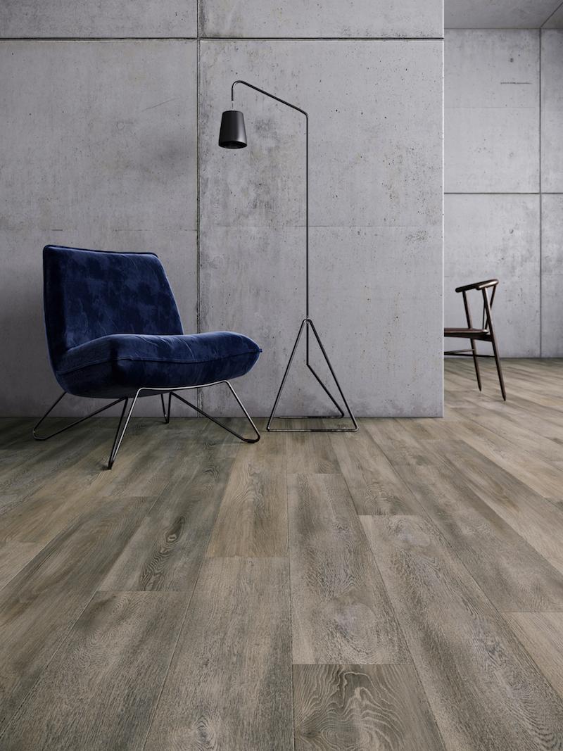 Interieurinspiratie: pvc vloeren met houtlook Moduleo Impress houtdessin Santa Cruz Oak #vloeren #pvcvloer #moduleo #interieur #houtenvloer