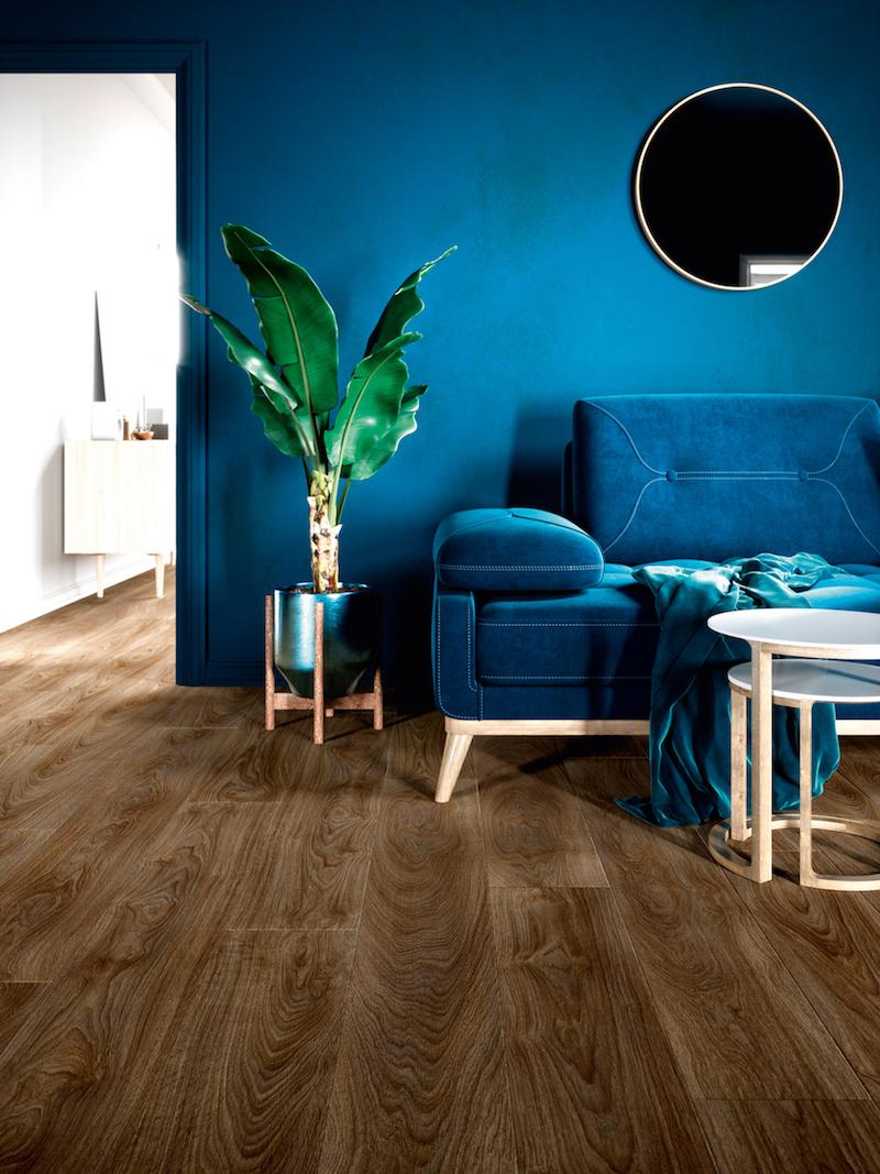 Interieurinspiratie: pvc vloeren met houtlook Moduleo Impress houtdessin Laurel Oak #vloeren #pvcvloer #moduleo #interieur #houtenvloer