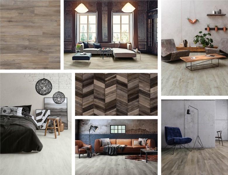 Interieurinspiratie: pvc vloeren met houtlook Moduleo Express with Impress #vloeren #pvcvloer #moduleo #interieur #houtenvloer