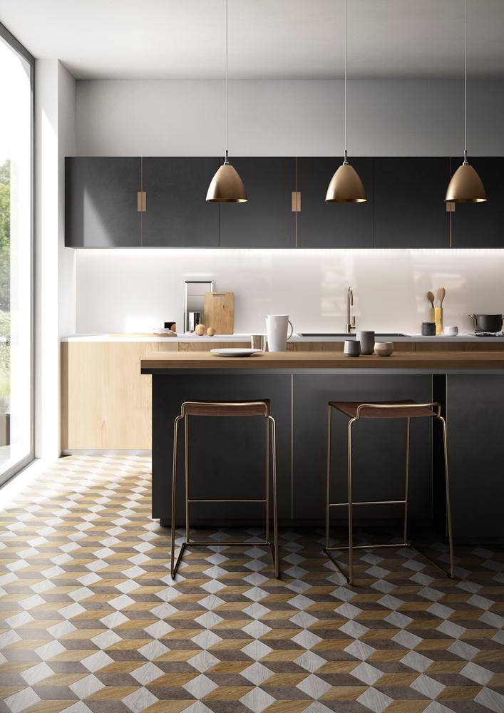 Praktische keukenvloeren mix match jouw stijl nieuws startpagina voor keuken idee n uw - Vinyl vloer voor keuken ...