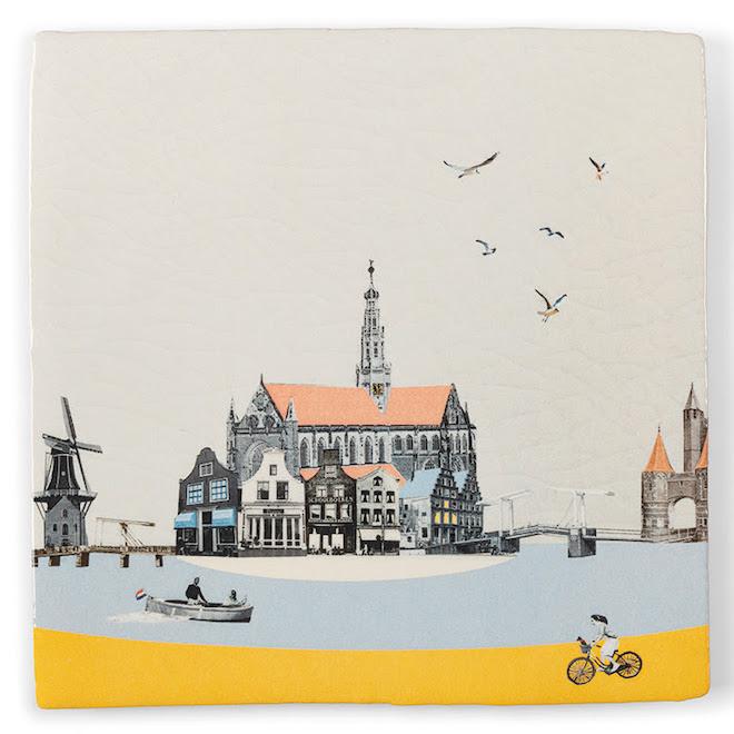 Story tiles Haarlem