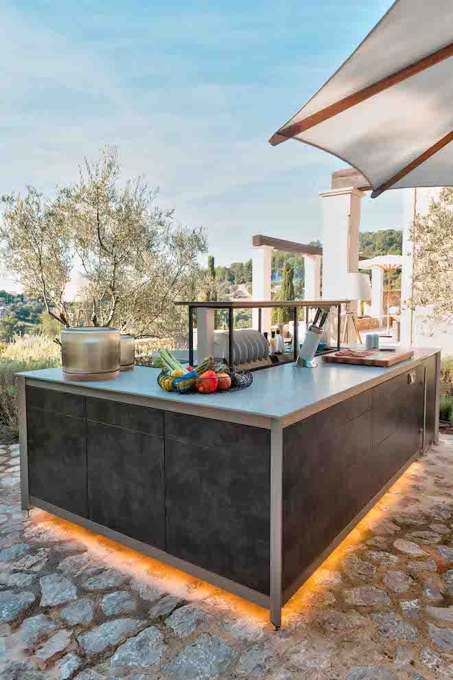 Wesco outdoor kitchen