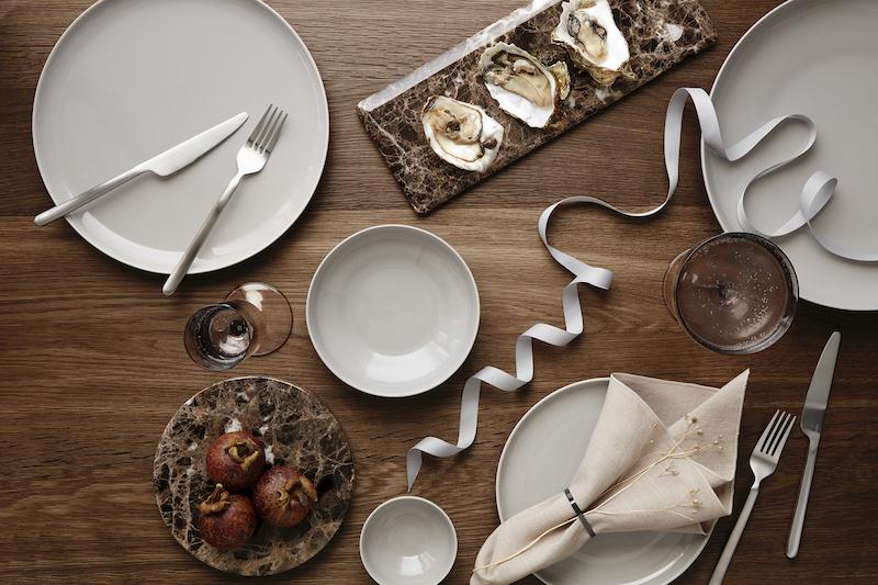 Blomus marmer trays om te serveren #eettafel #servies #marmer #decoratie #accessoires #blomus