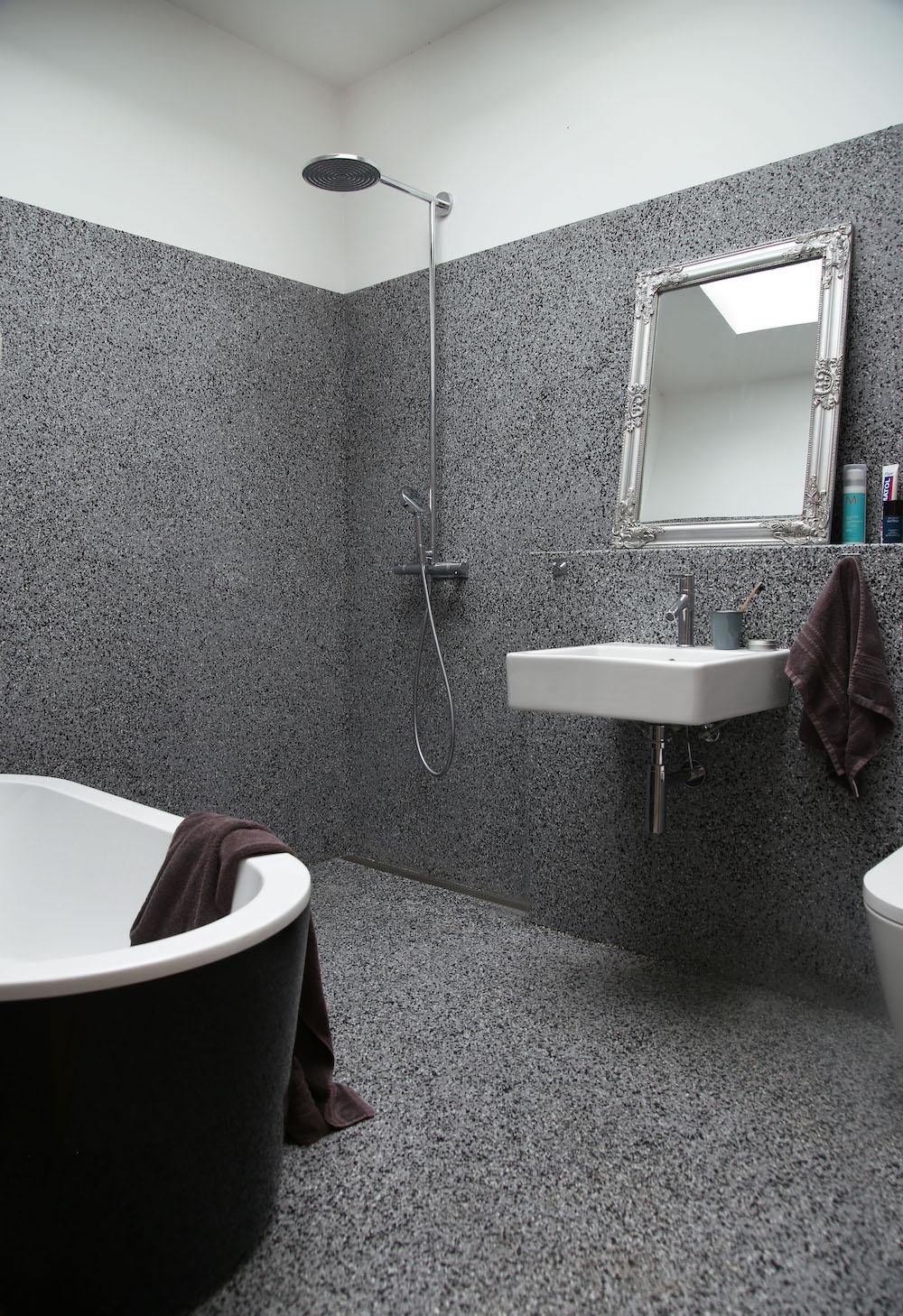 Savannen12 interieur in Zweden. Badkamer Duravit. Filippa Tredal Tone Kroken