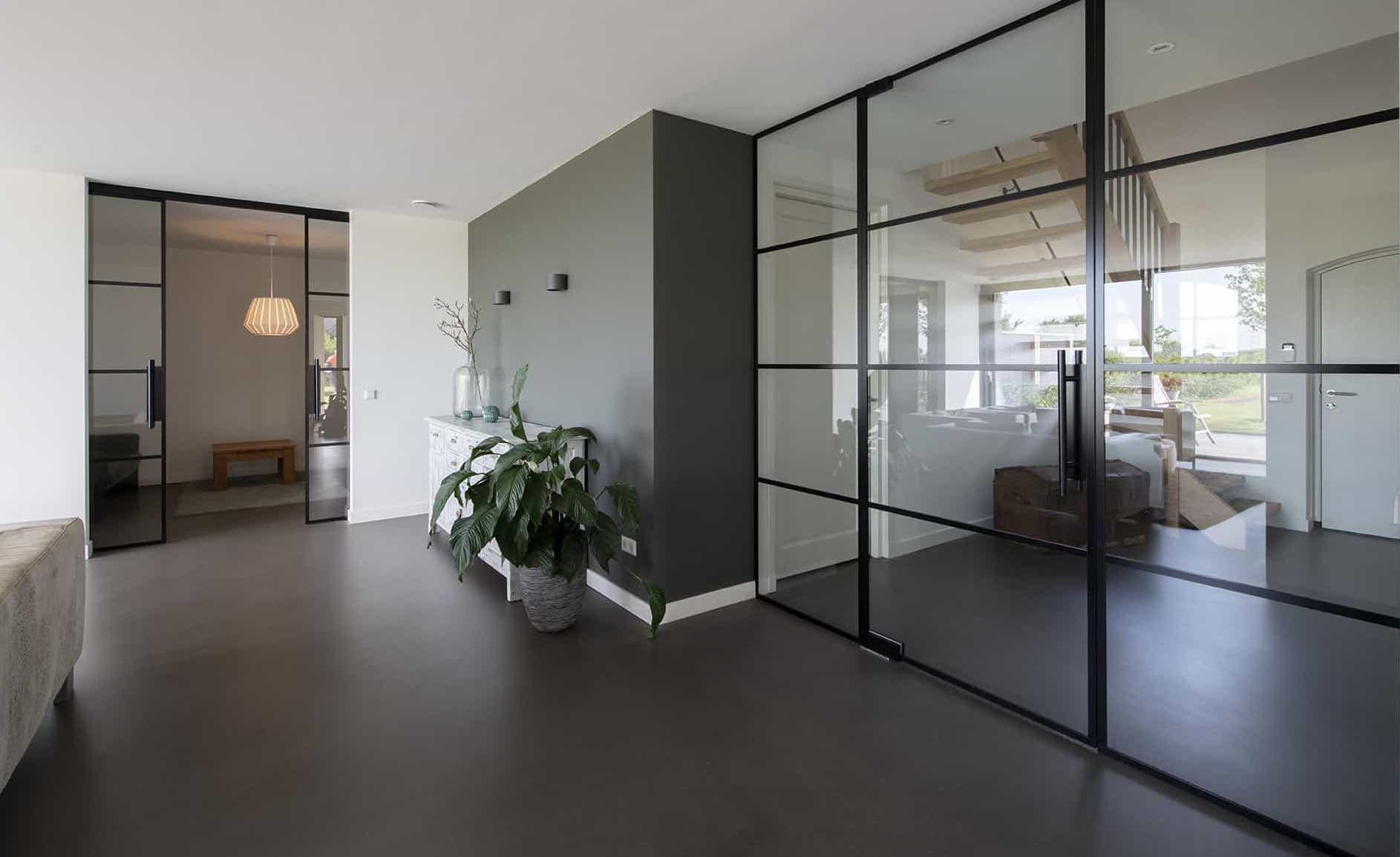 Glazen deuren wanden en schuifdeuren Stylish Glass