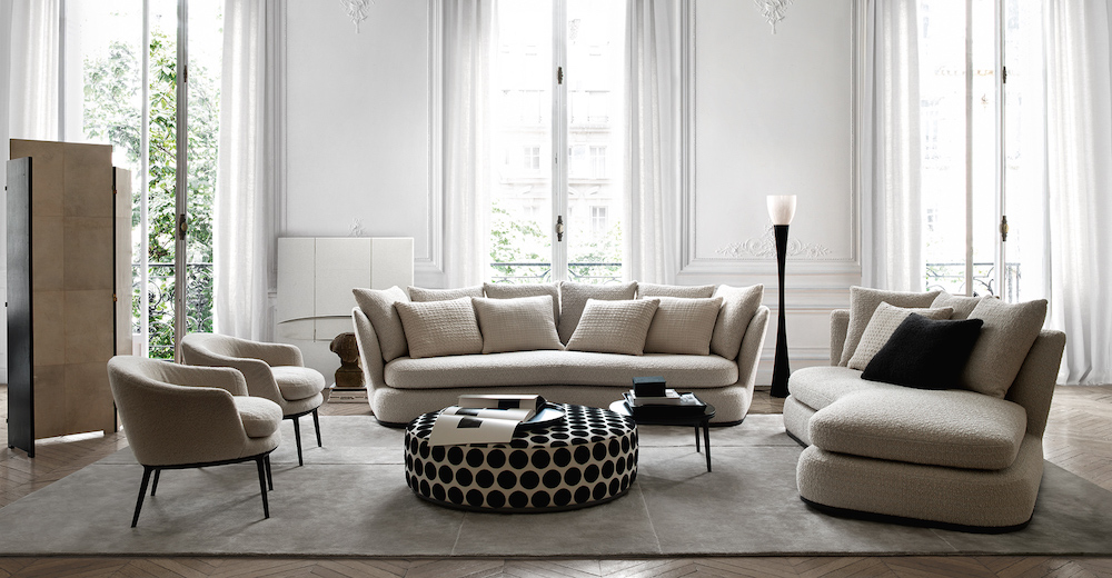 Sofa Apollo van Maxalto via Co van der Horst #interieur #interieurinspiratie
