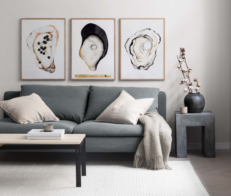 Oesters aan de muur #interieur #interieurinspiratie