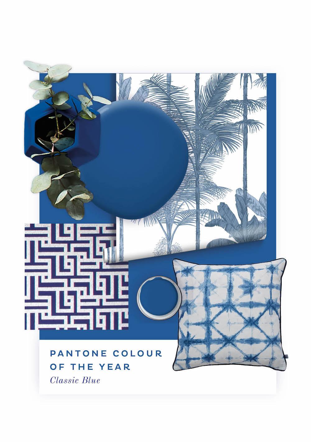 Pantone kleur van het jaar 2020: Classic Blue. #interieur #pantone #classicblue