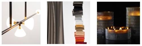 Interieur inspiratie. Lampen Roll&Hill, gordijnen van Dedar, Home Fragrance van Onno