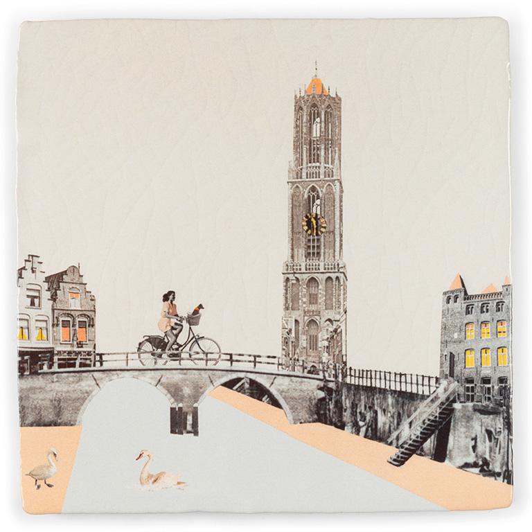 Tegel Utrecht - Aan de Utrechtse Grachten - StoryTiles