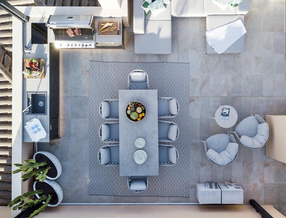 Tuininspiratie 2020. Buitenkeuken. Outdoor kitchen. esco #tuin #buitenkeuken #tuininspiratie