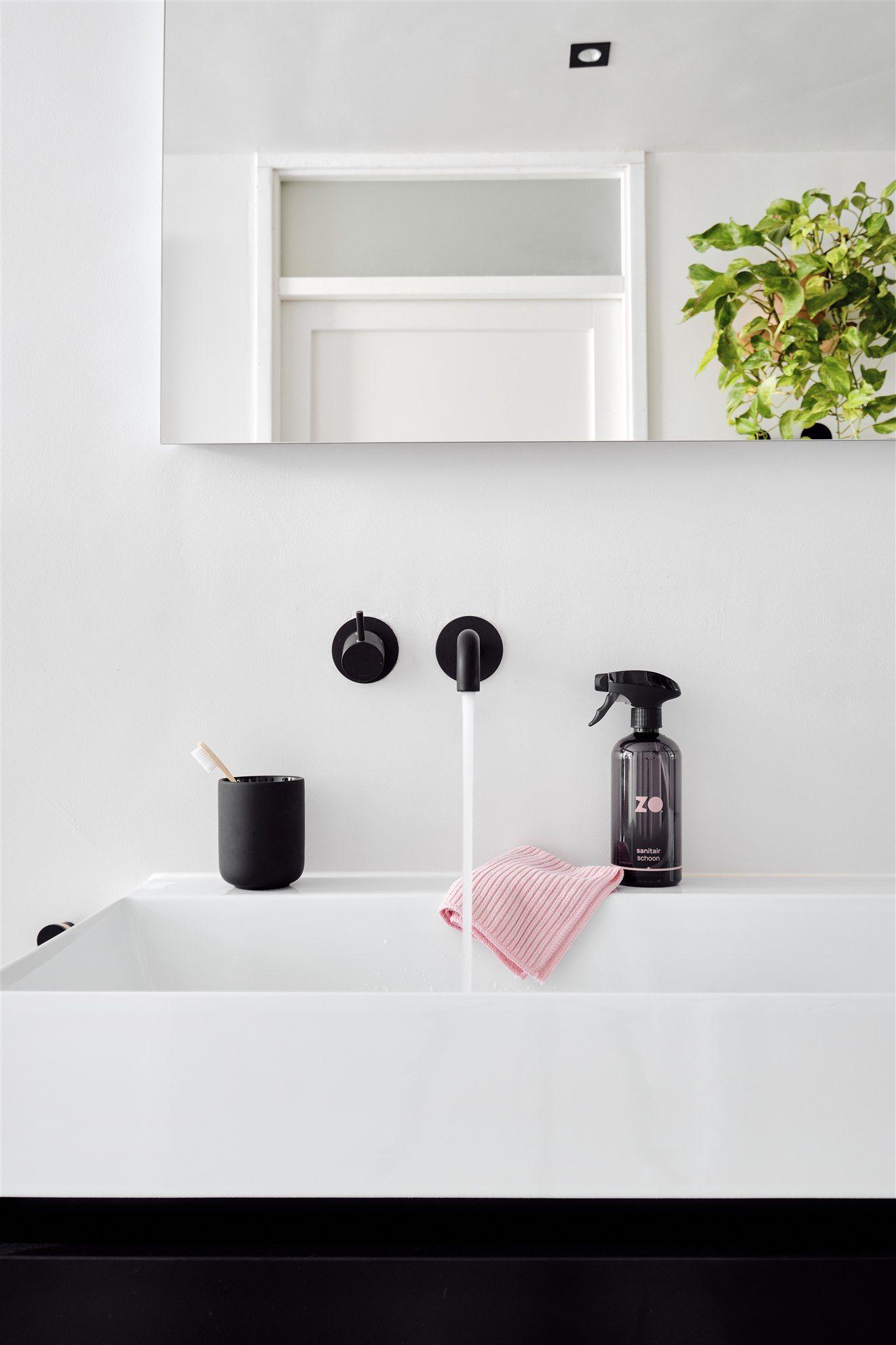 Tip: zo is de nieuwe manier van schoonmaken #schoonmaken #badkamer #wonen