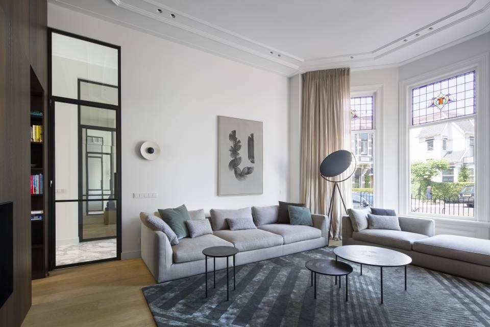 Villa Haarlem Wilhelminapark. Studio Ruim. Interieur © Daniel Nicolas #binnenkijken #villa #haarlem #architectuur #interieur #studioruim #himacs