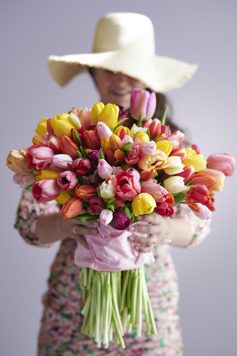 Tips, ideeën en weetjes over tulpen in huis #tulpen