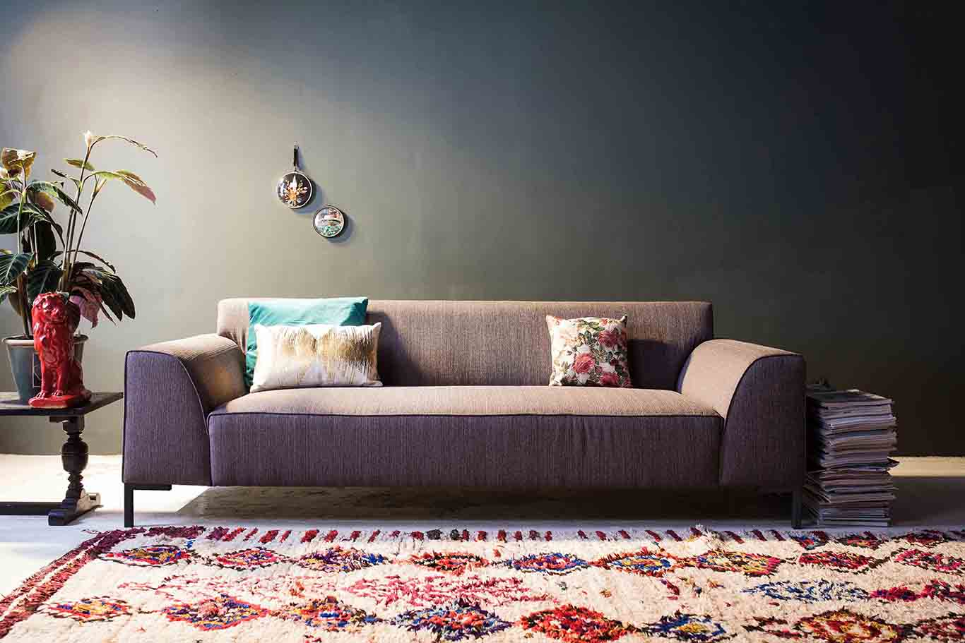 Interieur met bank van 4x6SOFA #interieur #zitbank #design #bank