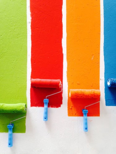 Verf trends van 2019 #interieur #interieurinspiratie #kleur #wonen #woonideeen