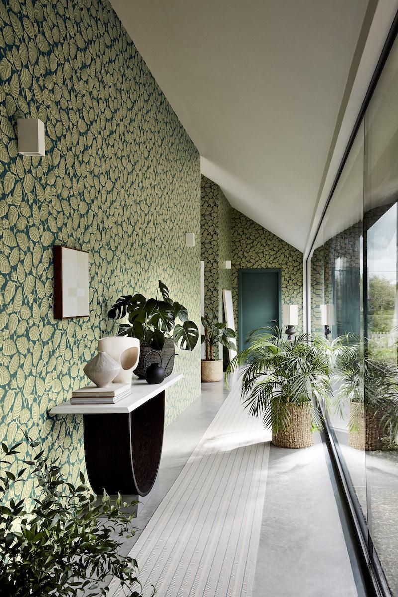 Behangcollectie gebaseerd 400 jaar historische interieurdecoratie van Little Green en National Trust #behang #interieur #behangcollectie #interiordesign #interieurstyling #littlegreen