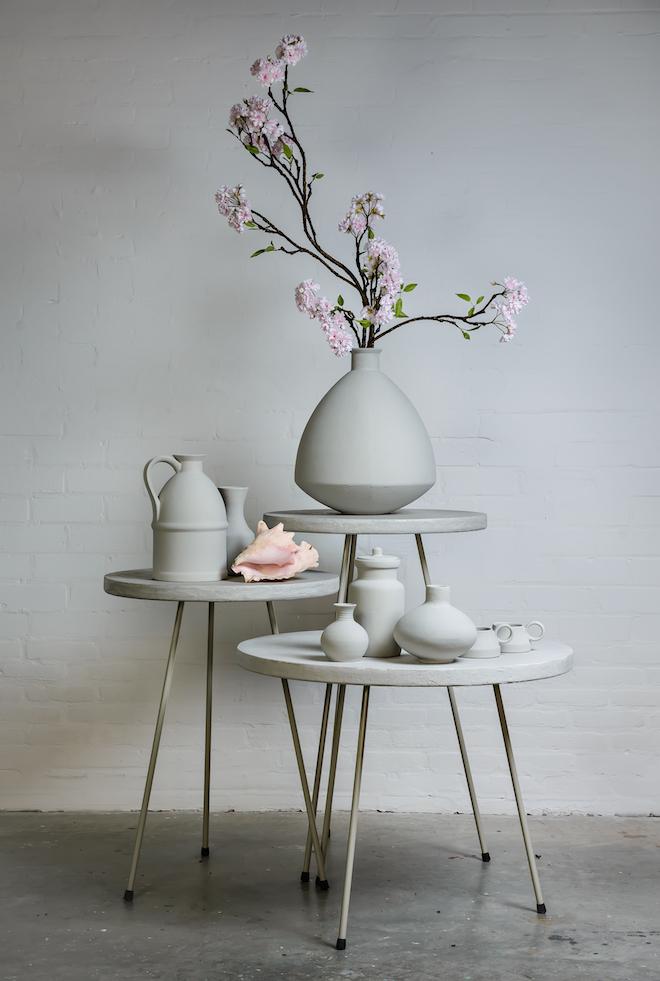 Betonlook meubels