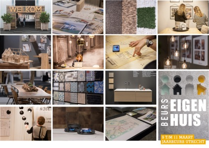 Verbouwen, verhuizen, je eigen droomhuis bouwen of aan de slag met het interieur? Bezoek dan in maart de (ver)bouw Beurs Eigen Huis in de jaarbeurs Utrecht #verbouwen #interieur #beurseigenhuis