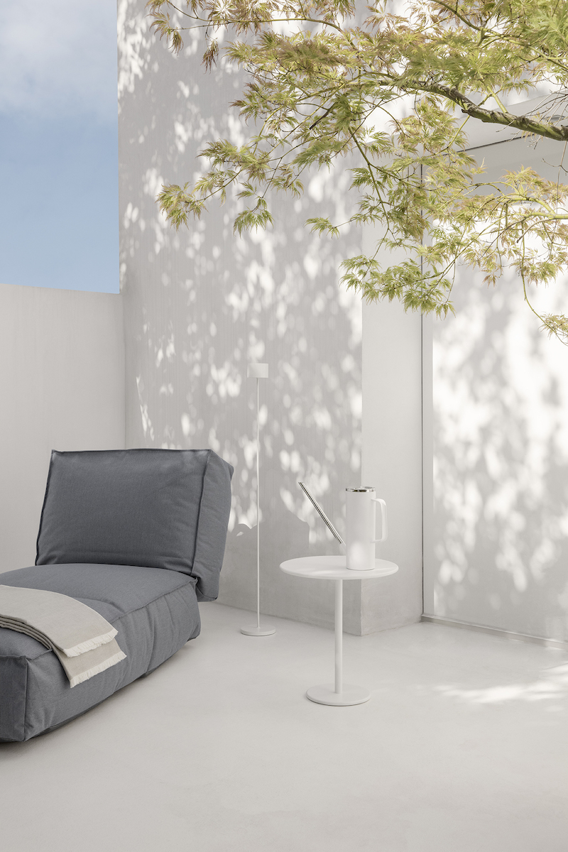 Tuininspiratie. Tuinmeubelen. Loungeset van Blomus #blomus #tuin #terras #tuinmeubelen #loungen #tuininspiratie #blomus