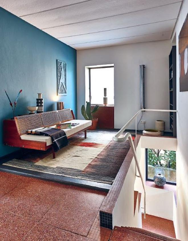 Vintage interieur uit het boek Think Radical Vintage van Piet Swimberghe en Jan Verlinde #interieur #vintage